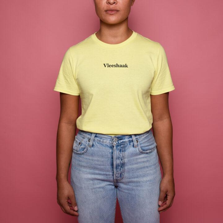 Vleeshaak Hakendevleeshaak T-Shirt Cornsilk Yellow - Monkshop