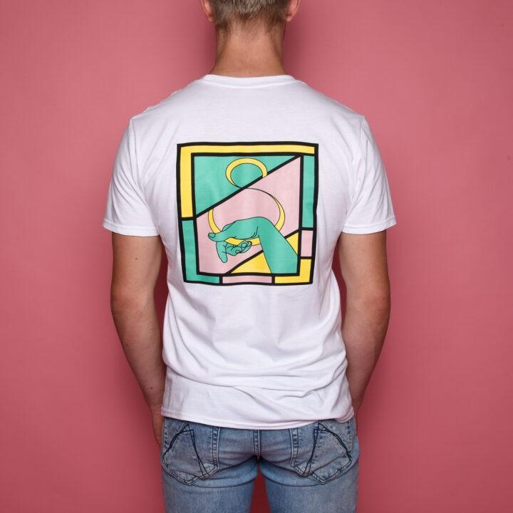 Vleeshaak Hakendevleeshaak T-Shirt White - Monkshop