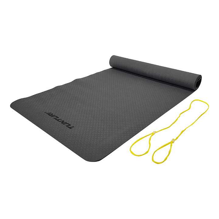 Tunturi TPE Yogamat 3mm Anthracite - Monkshop
