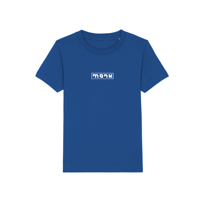 Monk Logo Kinder T-Shirt Majorelle Blue - Monkshop