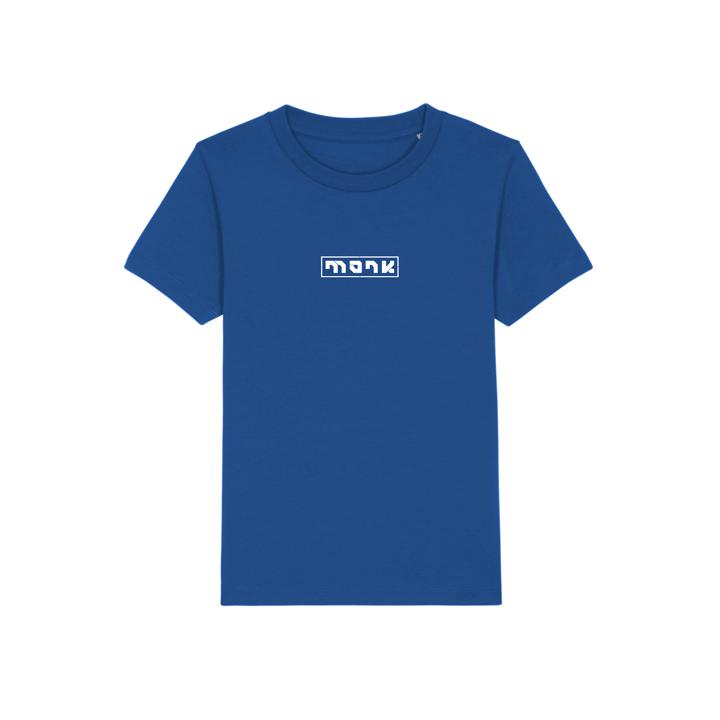 Monk Logo Kinder T-Shirt Majorelle Blue - Monkshop