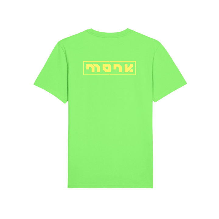 Monk Logo Unisex T-Shirt Apple Crunch
