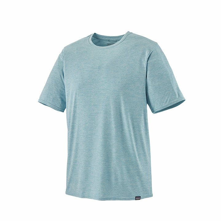 Patagonia Cap Cool Daily Heren T-Shirt Big Sky Blue - Monkshop