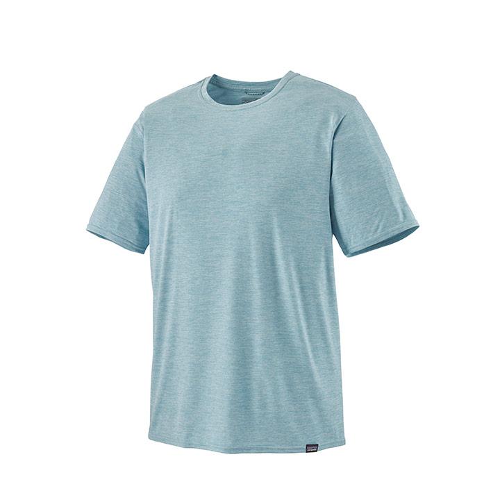 Patagonia Cap Cool Daily Heren T-Shirt Big Sky Blue - Monkshop