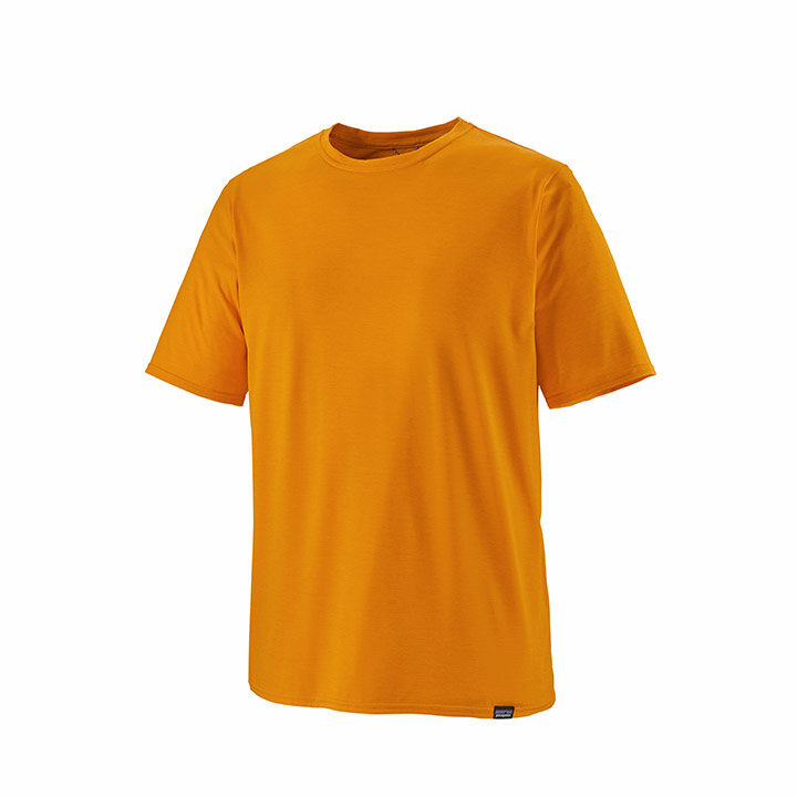 Patagonia Cap Cool Daily Heren T-Shirt Mango: Light Mango X-Dye - Monkshop