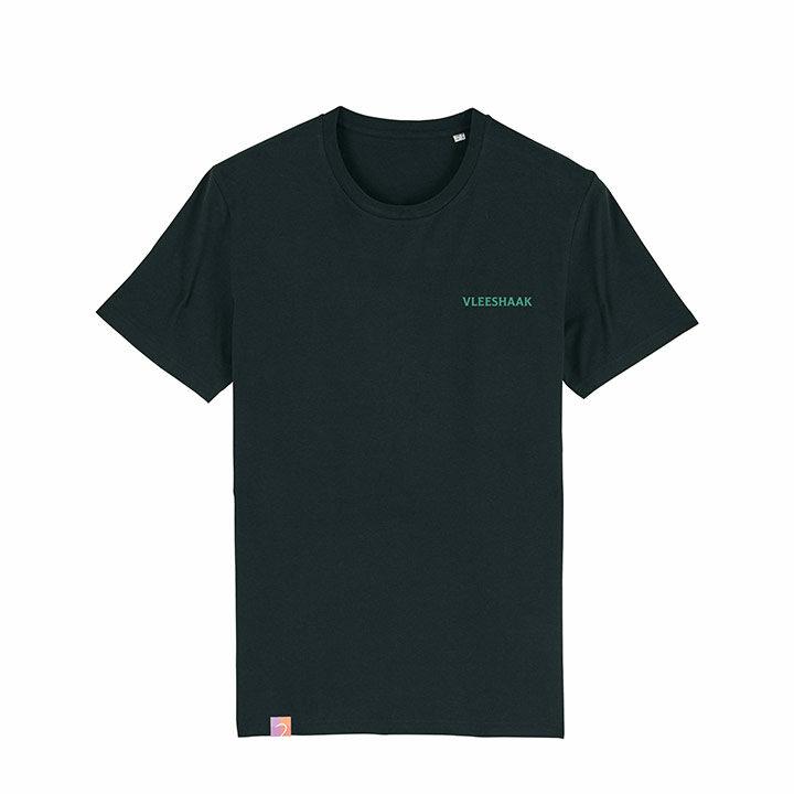 Vleeshaak Mountain Peak Unisex T-Shirt Black - Monkshop