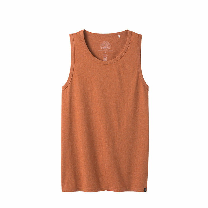 Prana Herenhemd Russet Heather - Monkshop