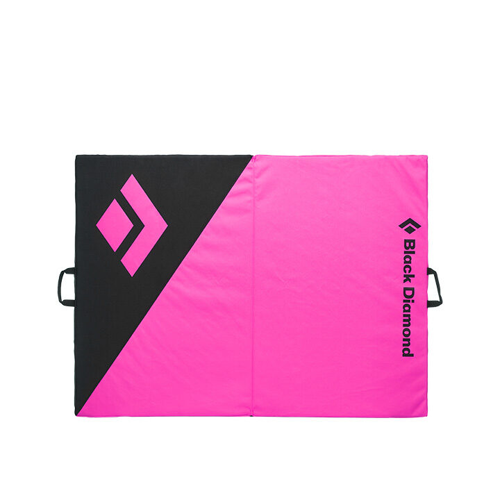 Black Diamond Circuit Crashpad Black Ultra Pink - Monkshop