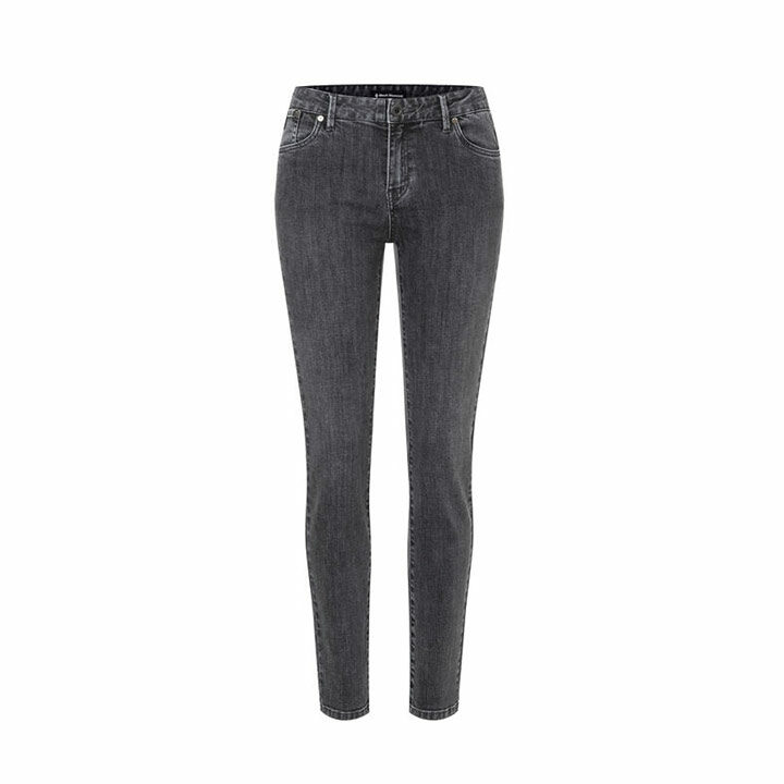 Black Diamond Crag Denim Dames Klimbroek Gray - Monkshop