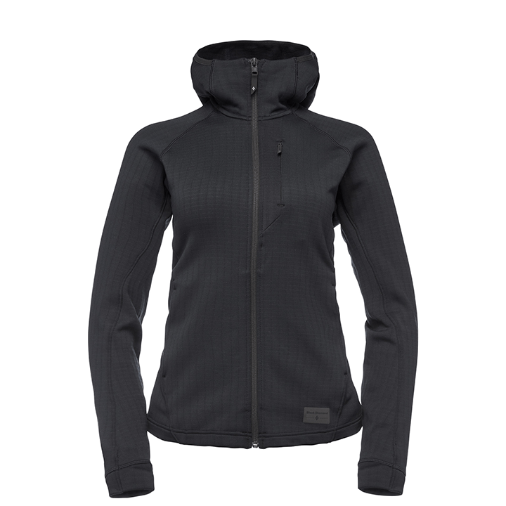 Black Diamond Factor Dames Hoody Black - Monkshop