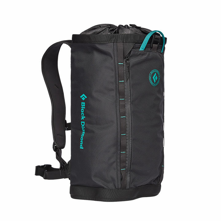 Black Diamond Street Creek 24 Rugzak Black / Teal - Monkshop
