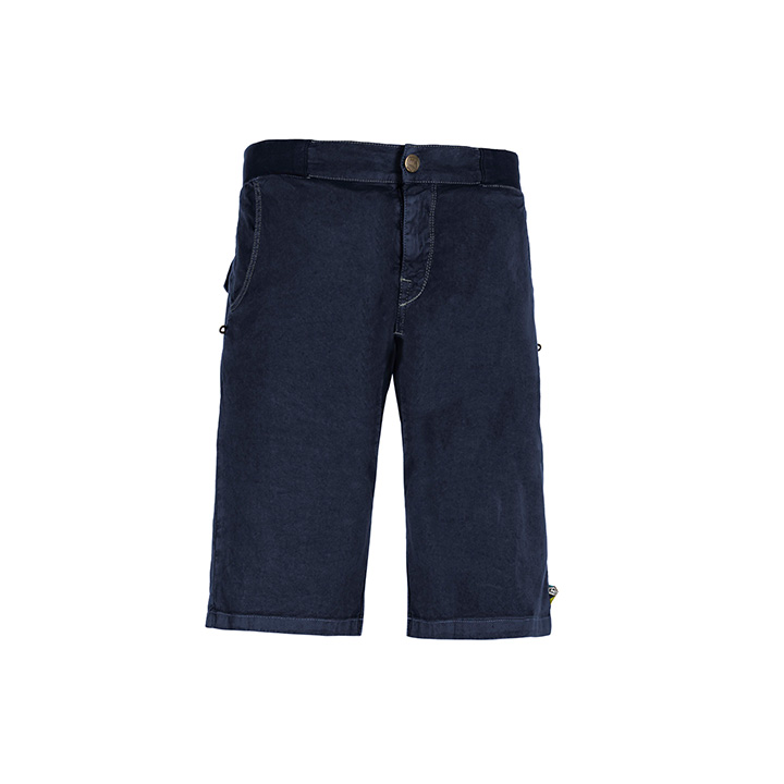 E9 Kroc Flax Heren Korte Broek Blue Navy - Monkshop
