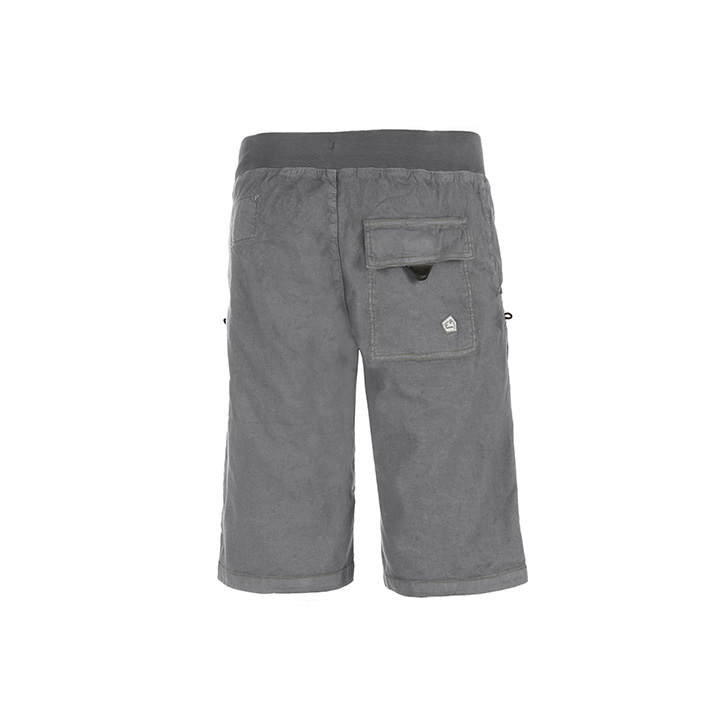E9 Kroc Flax Heren Korte Broek Grey - Monkshop