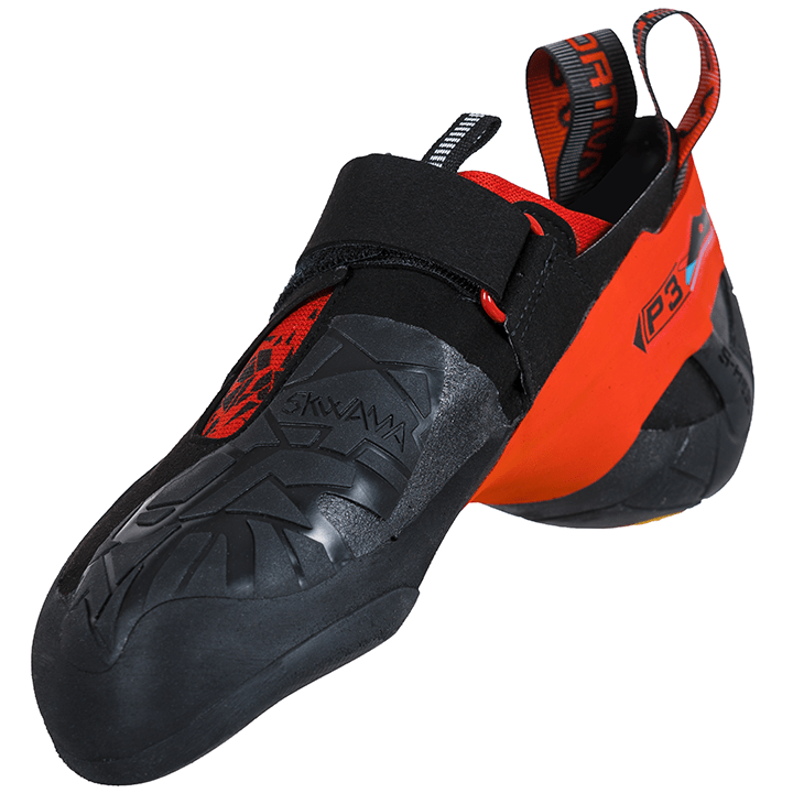 La Sportiva Skwama Heren - Black / Poppy - Monkshop