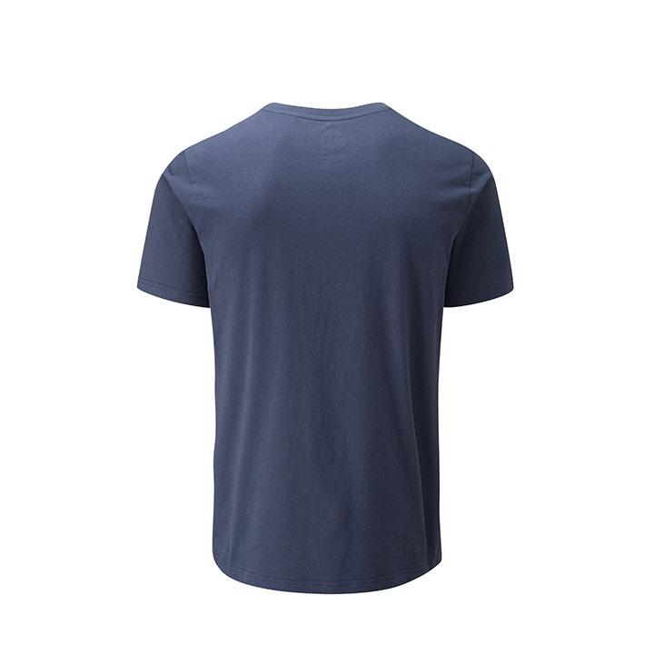 Moon Fade Logo Heren T-Shirt Indigo - Monkshop