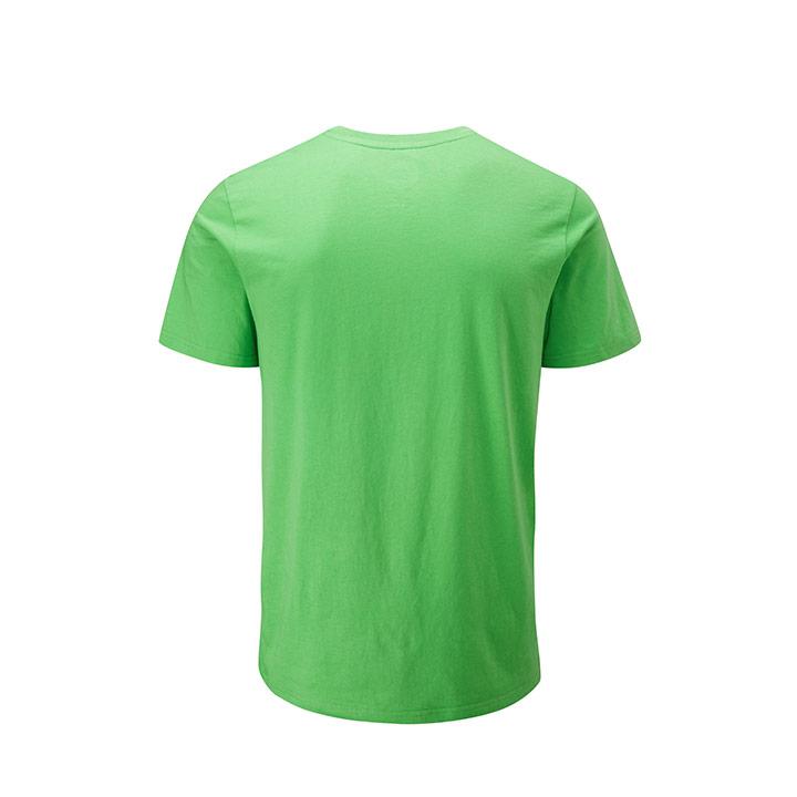 Moon Logo Heren T-Shirt Vibrant Green - Monkshop