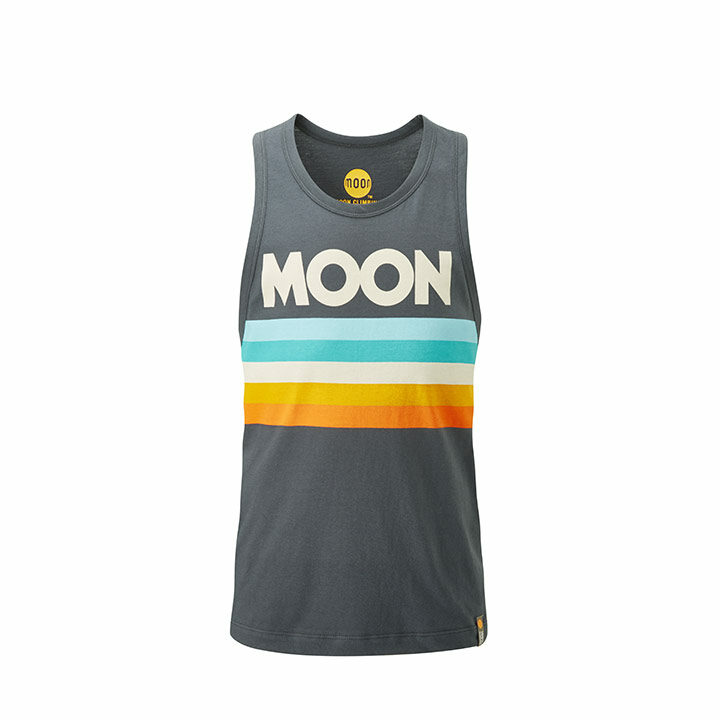 Moon Stripe Heren Hemd Ebony - Monkshop