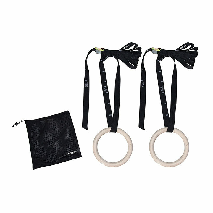 Tunturi Gym Rings Hout - Monkshop