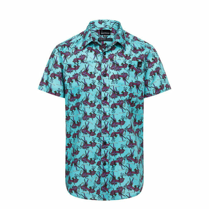 Black Diamond Solution Heren Blouse Gear Print - Monkshop