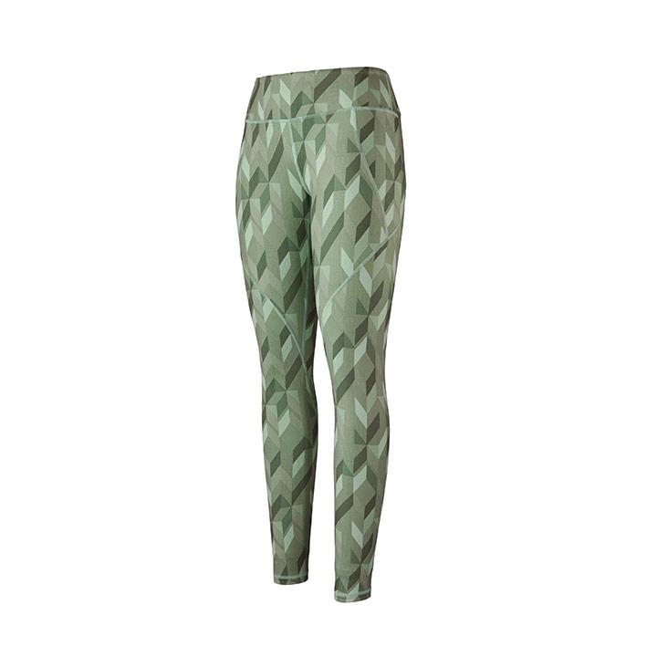 Patagonia Centered Dames Legging Fast Quilt Gypsum Green - Monkshop