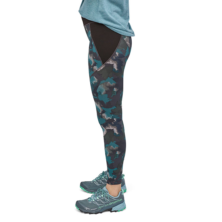 Patagonia Centered Dames Legging Maple Camo - Monkshop