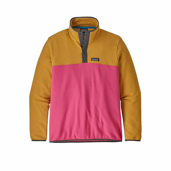 Patagonia Micro D Snap-T Herenpullover Ultra Pink - Monkshop