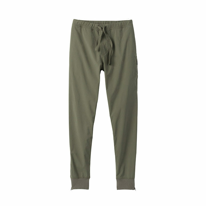 Prana Pilot Rock Heren Klimbroek Rye Green - Monkshop