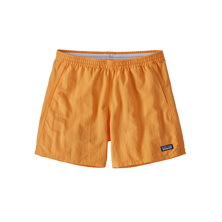 Patagonia Baggies Dames Korte Broek Saffron - Monkshop