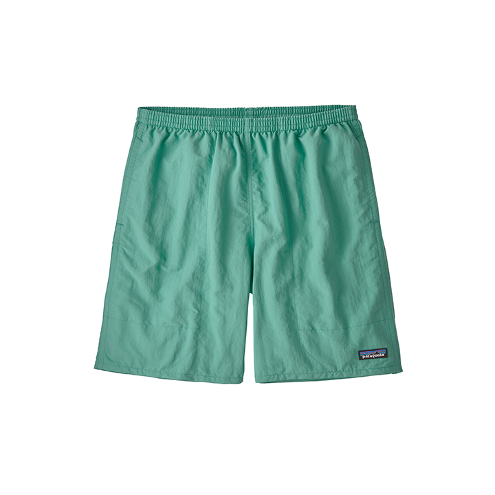 Patagonia Baggies Longs 7inch Heren Korte Broek Light Beryl Green - Monkshop