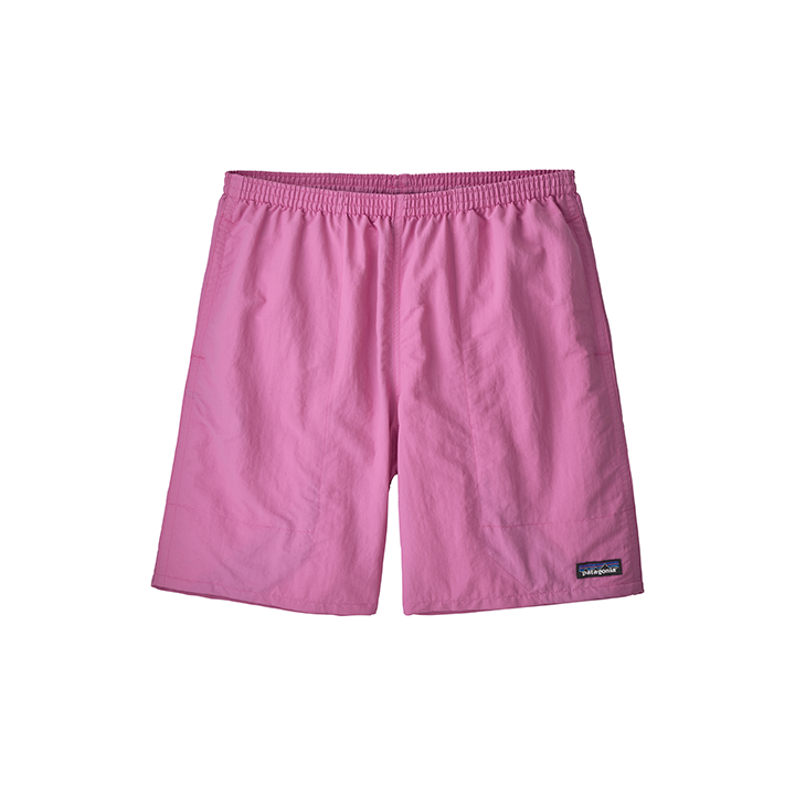 Patagonia Baggies Longs 7inch Heren Korte Broek Marble Pink - Monkshop