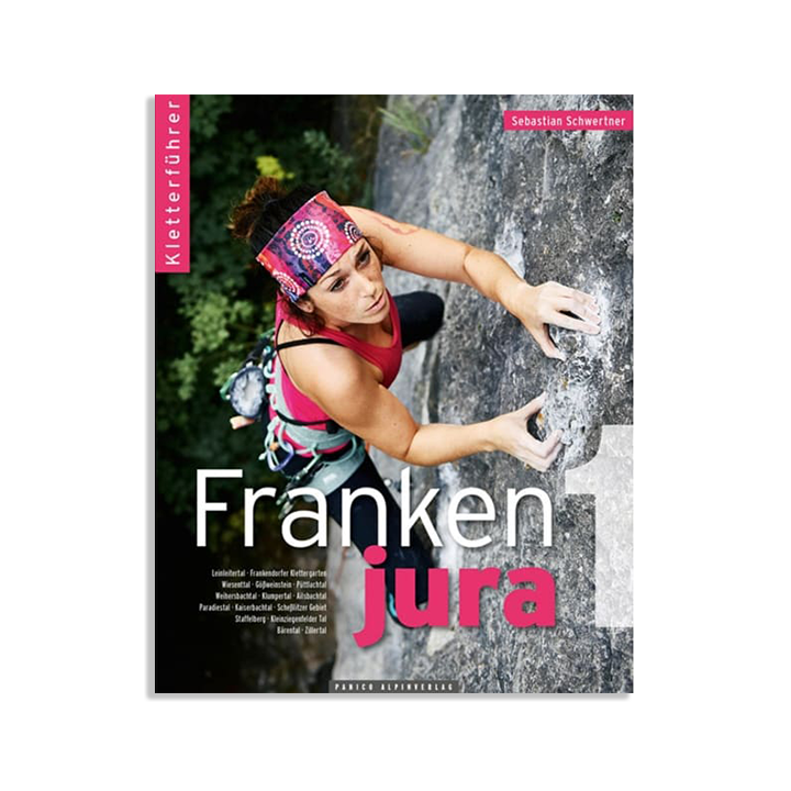 Frankenjura Band 1 Sportklimtopo (2020) - Monkshop