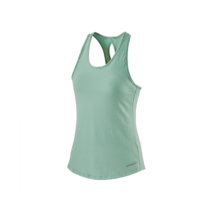 Patagonia Seabrook Run Dames Hemd Gypsum Green - Monkshop