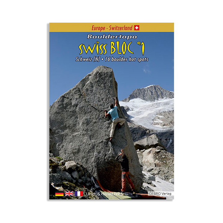 Swiss Bloc 1 Bouldertopo (2020) - Monkshop