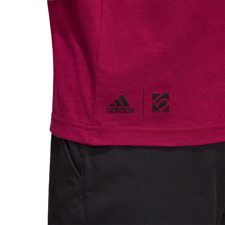 Adidas Five Ten 5.10 GFX Unisex Longsleeve Power Berry - Monkshop
