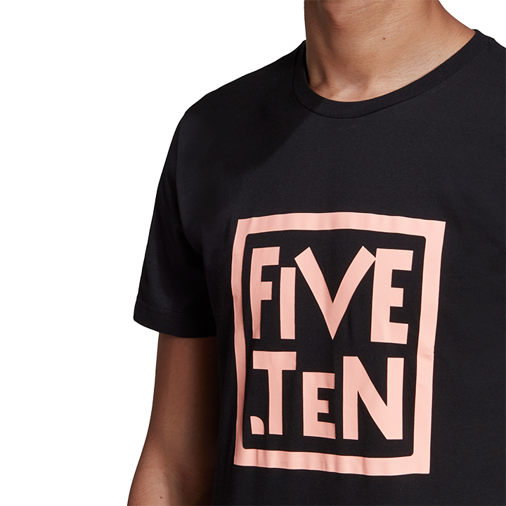 Adidas Five Ten 5.10 Heritage GFX Unisex T-Shirt Black - Monkshop