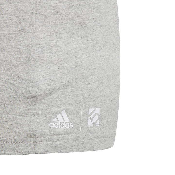 Adidas Five Ten 5.10 Logo Unisex T-Shirt Medium Grey Heather - Monkshop