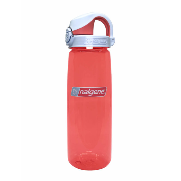 Nalgene On The Fly 750ml Drinkfles Coral w/ Frost Coral Cap - Monkshop
