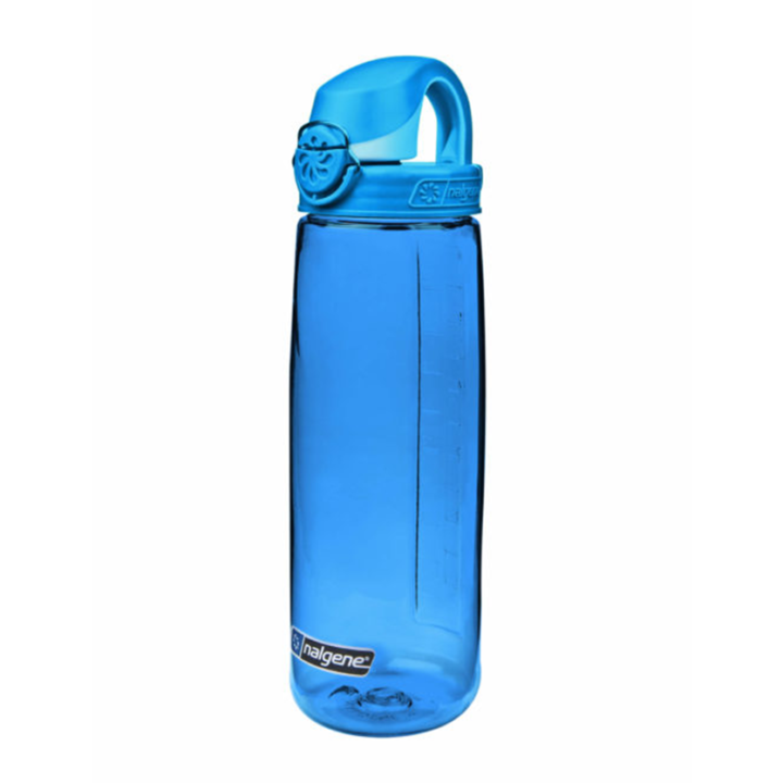 Nalgene On The Fly 750ml Drinkfles Blue w/ Glacier Blue Cap - Monkshop