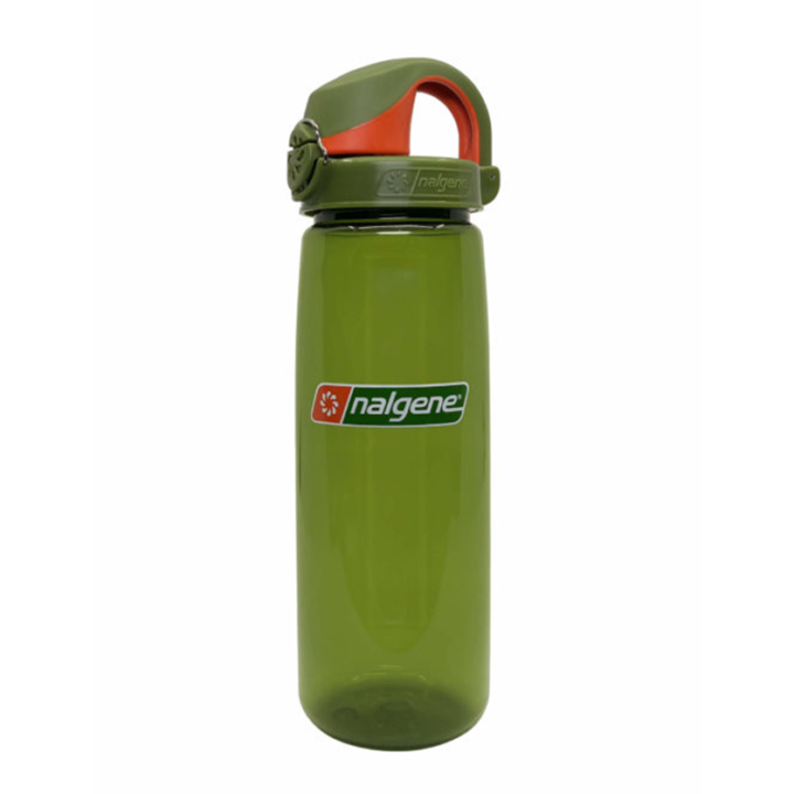 Nalgene On The Fly 750ml Drinkfles Juniper w/ Juniper Orange Cap - Monkshop