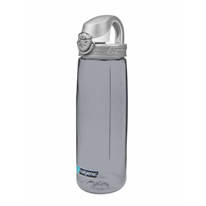 Nalgene On The Fly 750ml Drinkfles Smoke Gray w/ Gray Cap - Monkshop