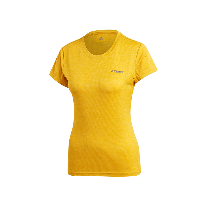 Adidas Terrex Tivid Dames T-Shirt - Legend Gold