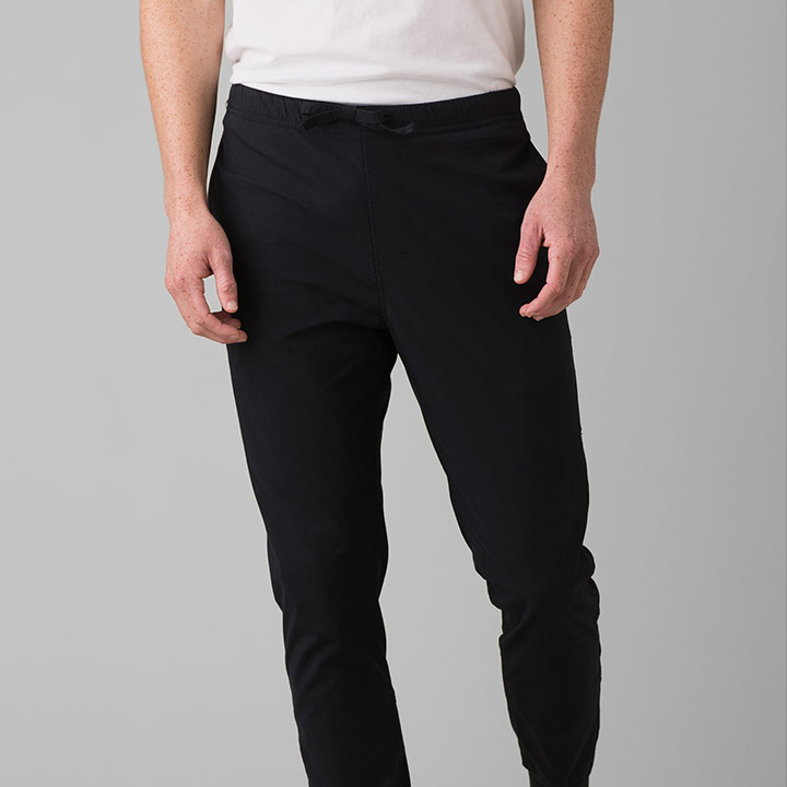 Prana Pilot Rock Heren Klimbroek Black - Monkshop