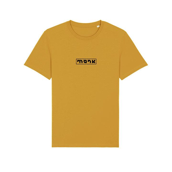Monk Logo Unisex T-Shirt Ochre - Monkshop