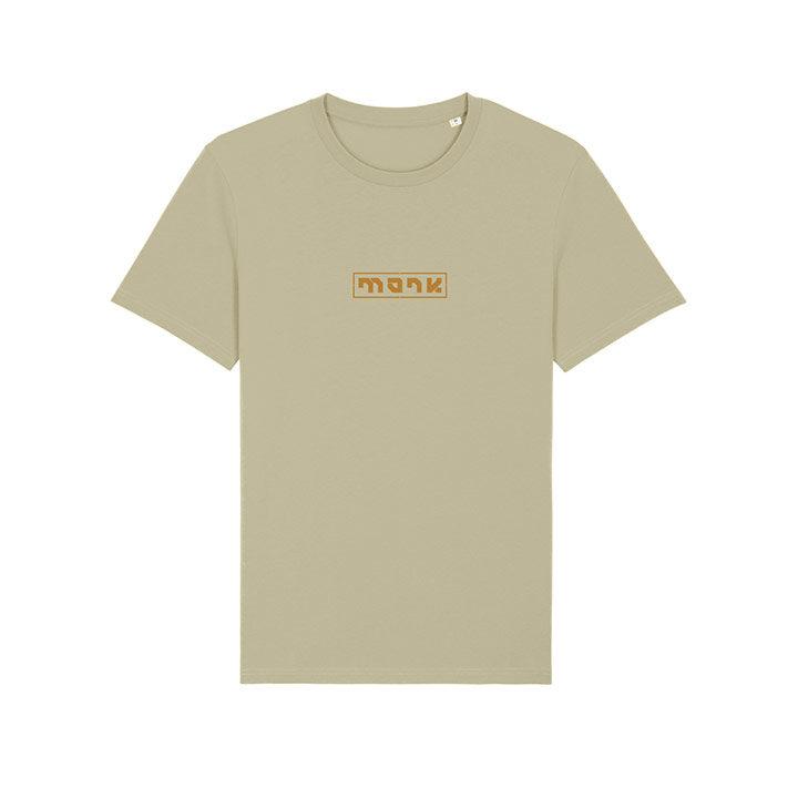 Monk Logo Unisex T-Shirt Sage - Monkshop