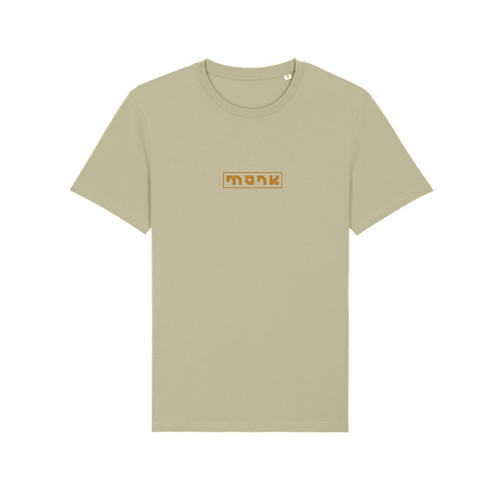 Monk Logo Unisex T-Shirt Sage - Monkshop