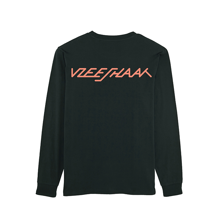 Vleeshaak Future Unisex Longsleeve Black - Monkshop