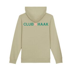 Club Monk X Vleeshaak Hoodie Sage - Monkshop