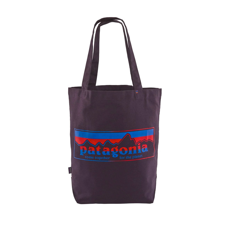 patagonia-market-tote-piton-purple together for the planet