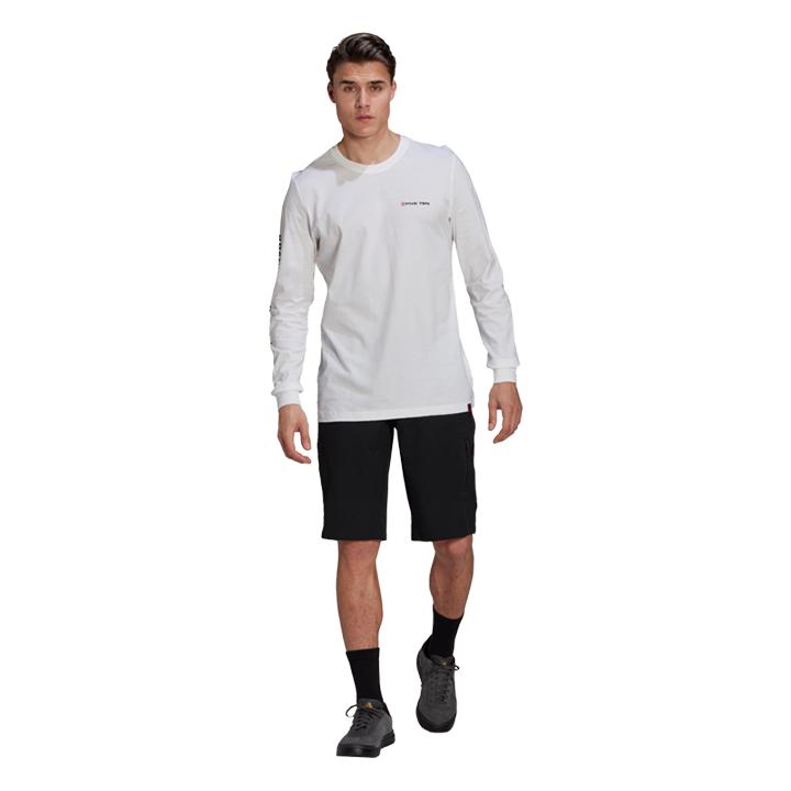 Adidas 5.10 Graphics Heren Longsleeve White - Monkshop