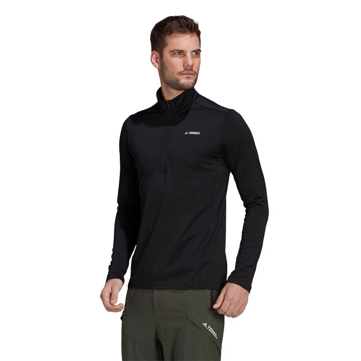 Adidas Terrex Multi 1/2 Fleece Herentrui Black - Monkshop